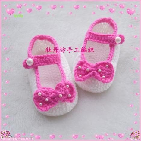 品:手工编织婴儿鞋