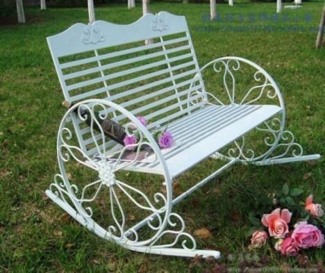 【图】网友推荐单品:欧式田园室外休闲椅白色