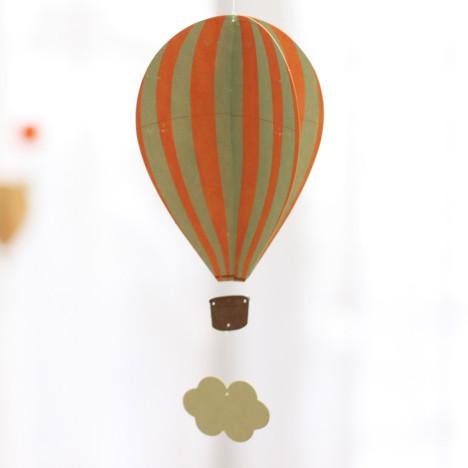 立体吊卡-热气球