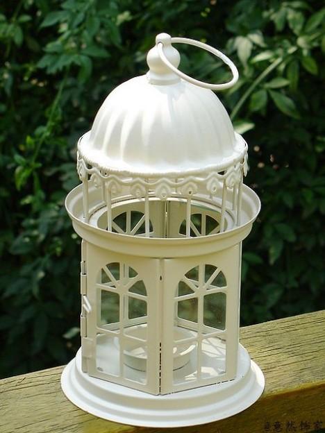 婚礼摆设/防风蜡烛台/新婚家居花园摆件/浪漫城堡款