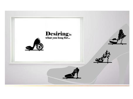 鞋店玻璃橱窗效果图 鞋店橱窗设计效果图 鞋店橱窗装修效