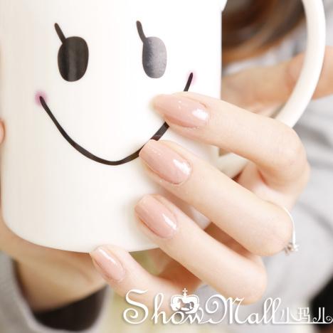 美甲裸色裸粉色丝袜奶茶