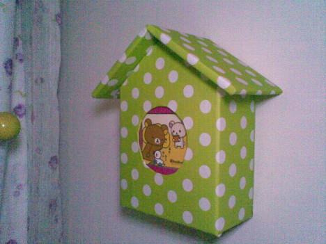 纸盒做的小房子
