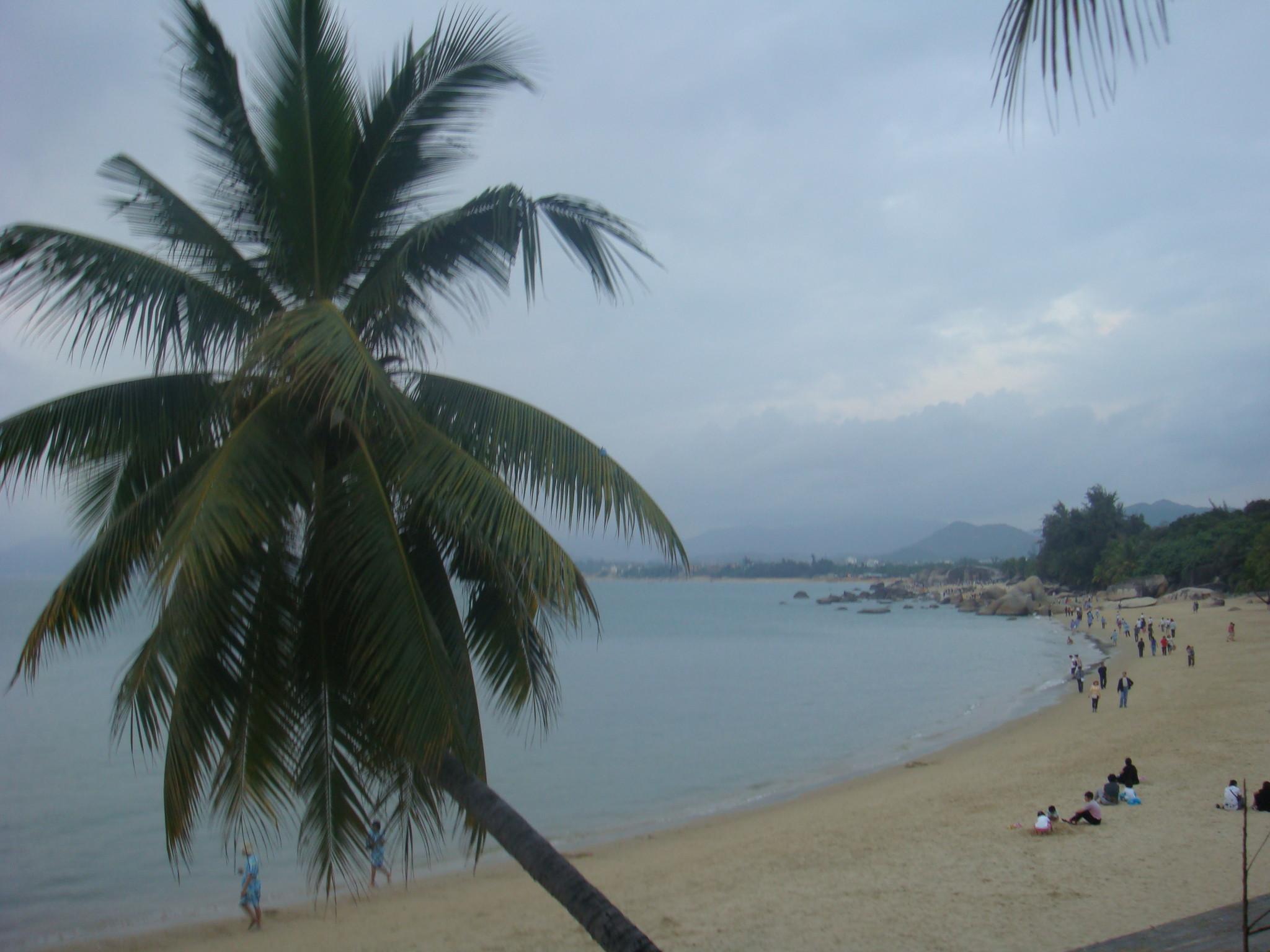 青岛银沙滩风景