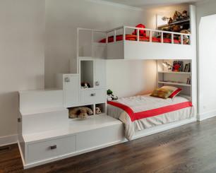卧室上下床 装修效果图 家居设计方案