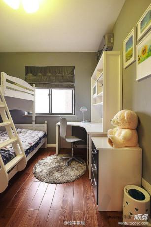 儿童房高低床风格装修效果图 家居方案推荐