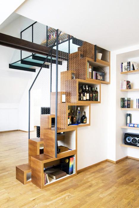 创意楼梯存储空间设计