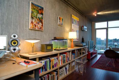 【图】单身公寓风格装修效果图_家居实拍图片_蘑菇家图片