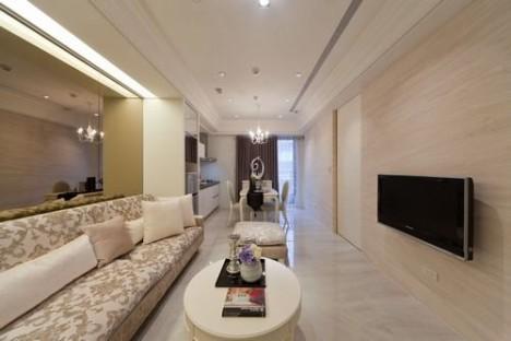 户型 单身公寓小户型一居两居三居四居loft跃层别墅阁楼 面积 50平米