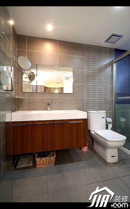 简约气质居家宅 105平三房两厅屋 装修效果图