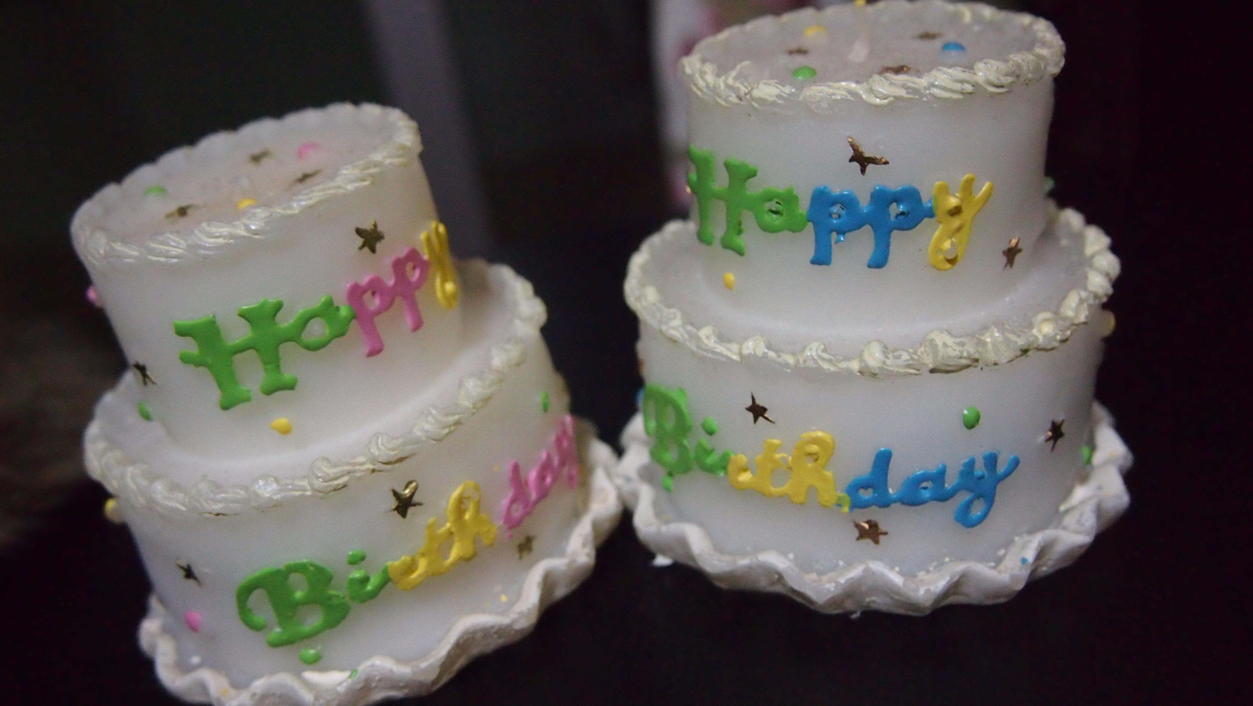 生日蛋糕蜡烛是不是很可爱